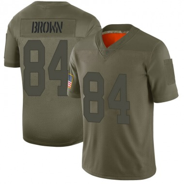 Men's Nike Oakland Raiders Antonio Brown 2019 Salute to Service Jersey - Camo Limited