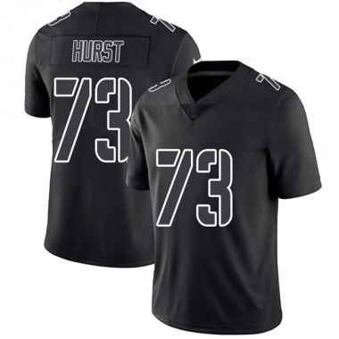 Men's Nike Oakland Raiders Maurice Hurst Jersey - Black Impact Limited